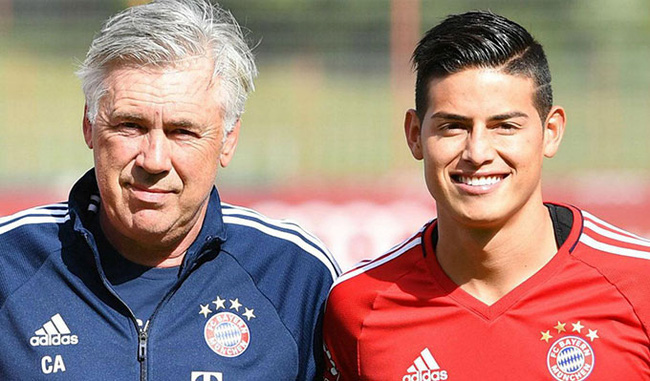 James Rodriguez sắp ra mắt Premier League?