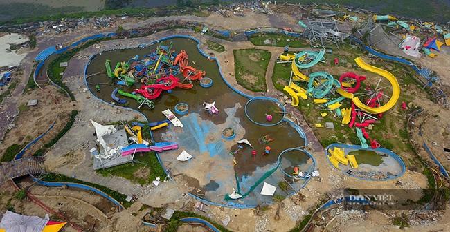 Nhiều cán bộ 'dính' sai phạm khi để công viên nước Thanh Hà xây không phép - Ảnh 1.