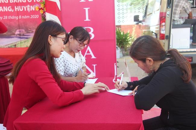 Agribank Phú Yên: Khai trương điểm giao dịch lưu động bằng ô tô chuyên dùng tại xã Ea Chà Rang - Ảnh 3.