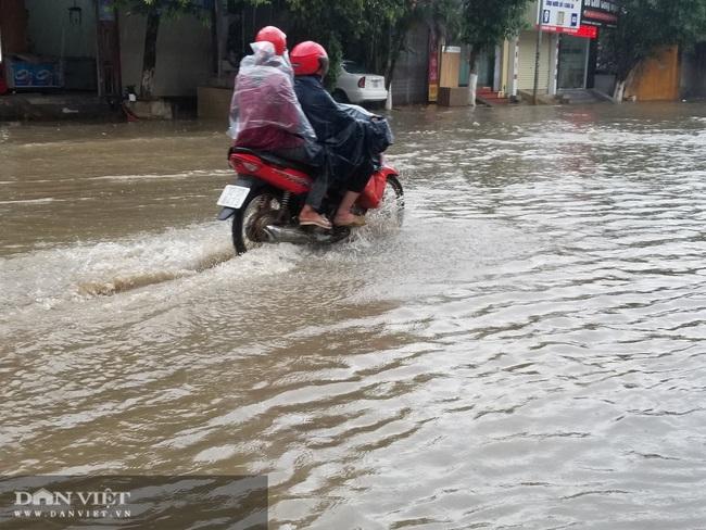 Lạng Sơn: Ảnh hưởng cơn bão số 2, nhiều tuyến đường bị ngập  - Ảnh 3.