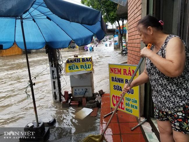 Lạng Sơn: Ảnh hưởng cơn bão số 2, nhiều tuyến đường bị ngập  - Ảnh 7.