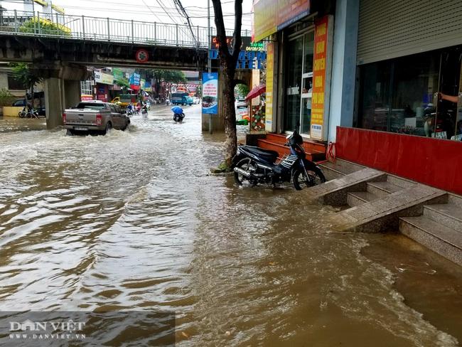 Lạng Sơn: Ảnh hưởng cơn bão số 2, nhiều tuyến đường bị ngập  - Ảnh 8.