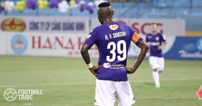 5 ngoại binh xuất sắc nhất lịch sử Hà Nội FC: Hoàng Vũ Samson có phải số 1? - Ảnh 4.