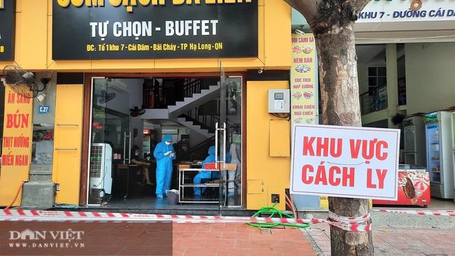 Khoanh vùng 2 tiệm cơm và cafe ở Hạ Long, truy vết người nghi nhiễm Covid-19 - Ảnh 5.