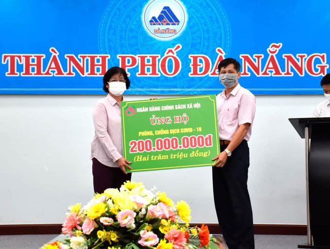 Đà Nẵng: Ngân hàng Chính sách xã hội tiếp sức cùng thành phố phòng chống dịch Covid-19 - Ảnh 1.