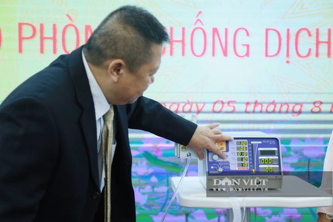 Cận cảnh 500 chiếc máy thở MV20 sản xuất tại Việt Nam - Ảnh 4.