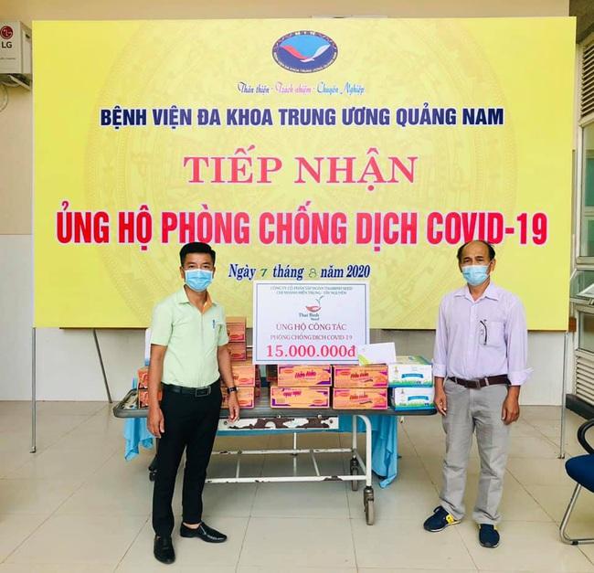 Chi nhánh miền Trung – Tây Nguyên của Công ty Cổ phần Tập đoàn ThaiBinh Seed chung tay phòng chống dịch - Ảnh 1.