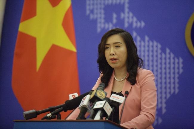 Việt Nam phản ứng Trung Quốc tập trận và bắn tên lửa ở quần đảo Hoàng Sa  - Ảnh 1.