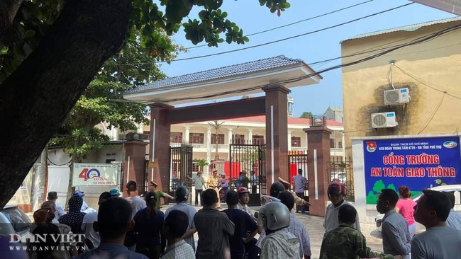 Phú Thọ: Sập công trình trong Trung tâm hướng nhiều người thương vong - Ảnh 1.