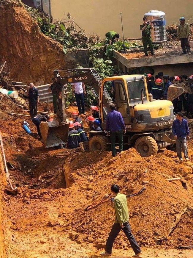 Phú Thọ: Sập công trình đang thi công, 4 người tử vong  - Ảnh 1.