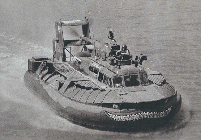 Ngạc nhiên tàu khí đệm độc nhất trong Chiến tranh Việt Nam - Ảnh 1.