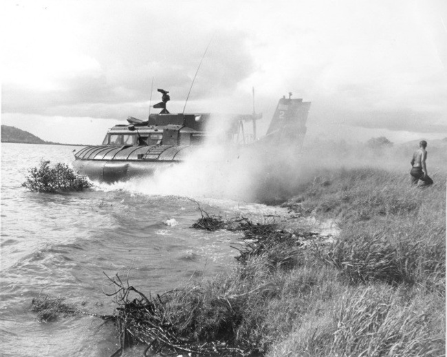 Ngạc nhiên tàu khí đệm độc nhất trong Chiến tranh Việt Nam - Ảnh 9.