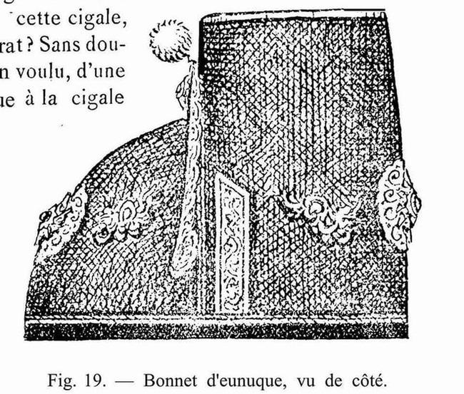 """Khám phá chi tiết """"độc, lạ"""" trong trang phục thái giám triều Nguyễn - Ảnh 2."""