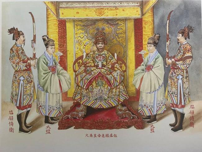 """Khám phá chi tiết """"độc, lạ"""" trong trang phục thái giám triều Nguyễn - Ảnh 3."""