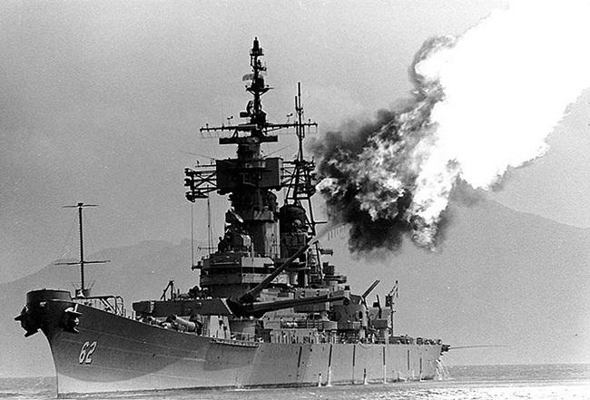 Đi tìm thiết giáp hạm duy nhất Mỹ từng dùng trong CTVN - Ảnh 1.