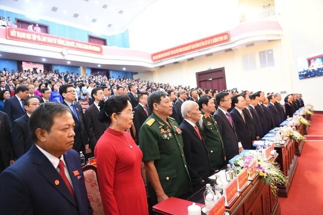Hà Nam khai mạc Đại hội Đảng bộ cấp tỉnh đầu tiên trong cả nước - Ảnh 4.