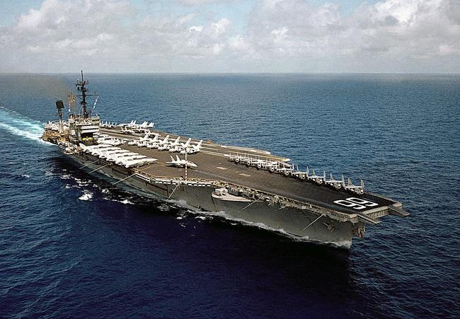 Tàu sân bay Mỹ ba lần đến Việt Nam đã bị đánh đắm ra sao? - Ảnh 1.