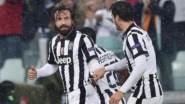 Pirlo từng sát cánh cùng Morata