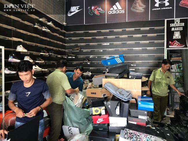 Bình Dương: Phát hiện, tịch thu hàng ngàn đôi giày nhái hàng hiệu Adidas, Nike, Gucci… - Ảnh 5.