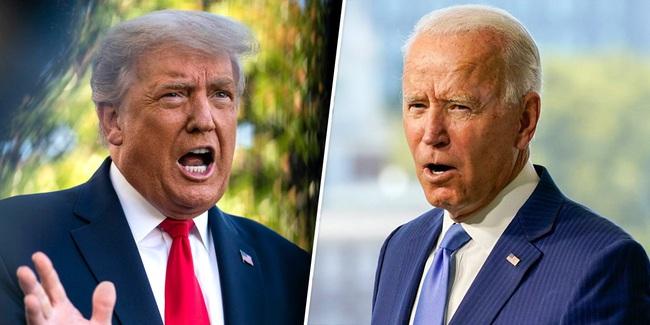 """Bầu cử Mỹ: Trump và Biden khẩu chiến chuyện gì trong trận """"so găng"""" trực tiếp đầu tiên? - Ảnh 1."""