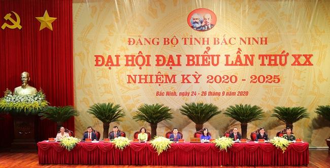 Đại hội Đại biểu Đảng bộ Bắc Ninh - Ảnh 1.