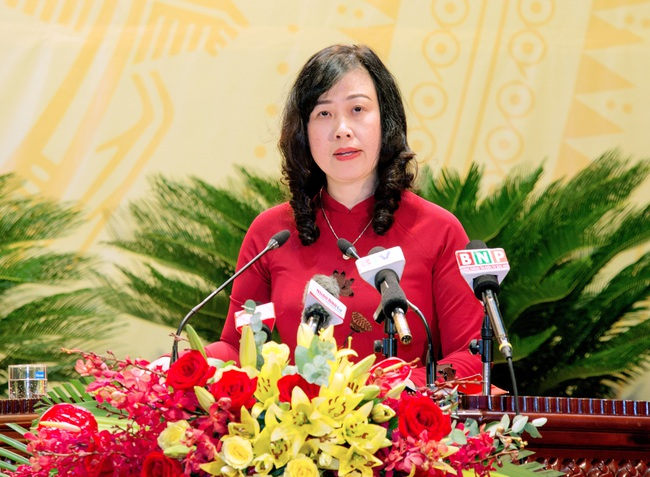 Bà Đào Hồng Lan được bầu giữ chức Bí thư Tỉnh ủy Bắc Ninh - Ảnh 1.
