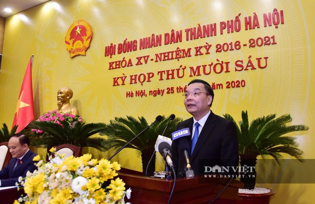 Hình ảnh ông Chu Ngọc Anh nhận nhiệm vụ Chủ tịch UBND TP Hà Nội - Ảnh 7.