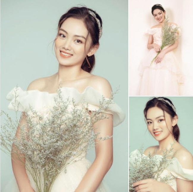 Hoa khôi bóng chuyền Nguyễn Thu Hoài tung ảnh xinh như... công chúa - Ảnh 1.