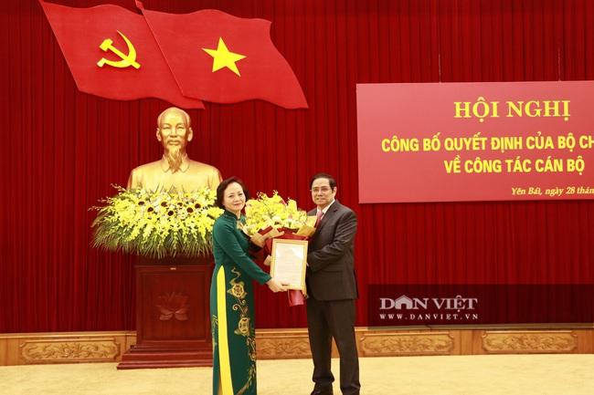 Bà Phạm Thị Thanh Trà Thứ trưởng Bộ Nội vụ nhận Quyết định giữ chức Phó trưởng Ban tổ chức Trung ương - Ảnh 3.