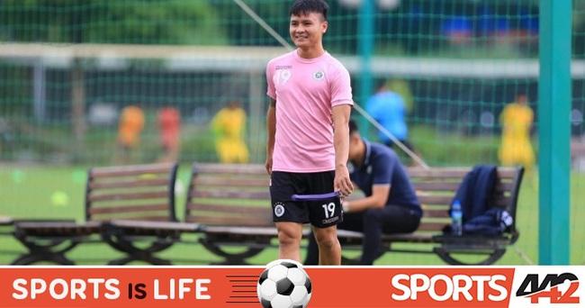 Bình phục chấn thương, Quang Hải sẵn sàng cùng CLB Hà Nội đấu Thanh Hóa - Ảnh 1.