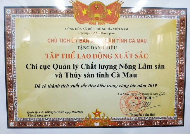 """Diễn biến mới vụ Bộ NNPTNT """"tuýt còi"""" Quyết định của UBND tỉnh Cà Mau - Ảnh 2."""