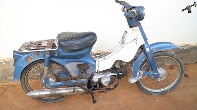 Chứng kiến quá trình phục chế hoàn chỉnh một chiếc Honda Super Cub C50 1978 - Ảnh 1.