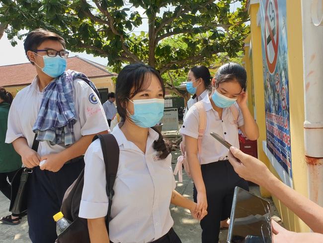 Quảng Nam: Thí sinh hào hứng với đề thi môn Ngữ văn vừa sức - Ảnh 1.