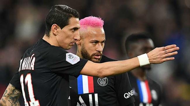 SỐC:Neymar, Di Maria dương tính với Covid-19 - Ảnh 1.