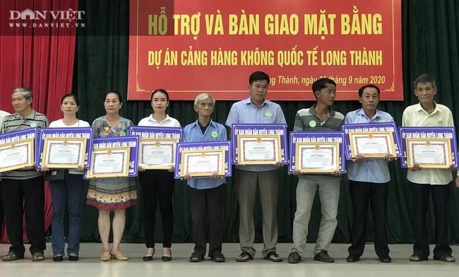 Dự án sân bay Long Thành: 112 trường hợp nhận hơn 351 tỷ tiền bồi thường đợt 6 - Ảnh 1.