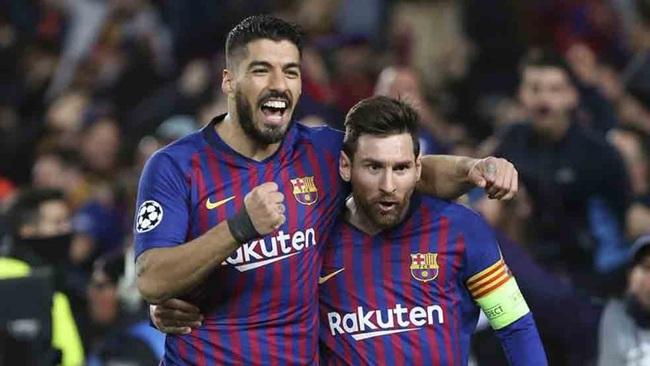 Messi không muốn Suarez đi