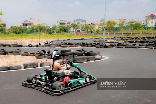 Trường đua F1 mini tại Hà Nội hút giới trẻ dịp cuối tuần - Ảnh 9.