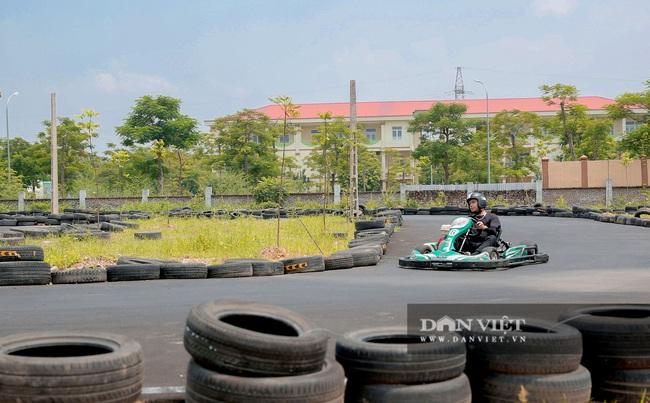 Trường đua F1 mini tại Hà Nội hút giới trẻ dịp cuối tuần - Ảnh 7.