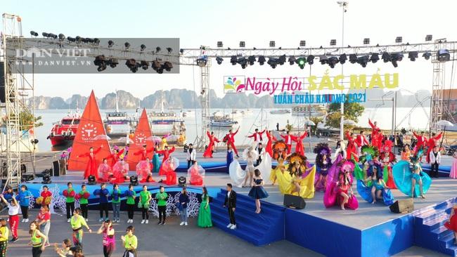 Quảng Ninh tổ chức Carnaval mùa Đông rực rỡ trên đảo Tuần Châu - Ảnh 1.