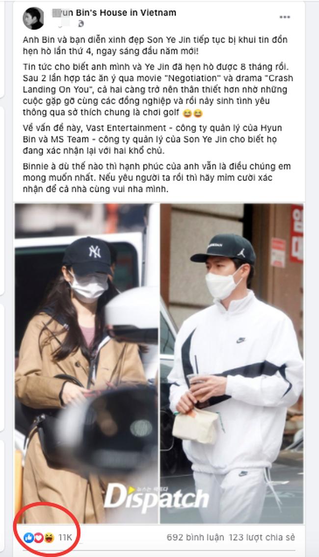 """Hyun Bin - Son Ye Jin gây """"sốt"""" mạng vì lộ bằng chứng hẹn hò bí mật ngày đầu năm mới 2021 - Ảnh 3."""