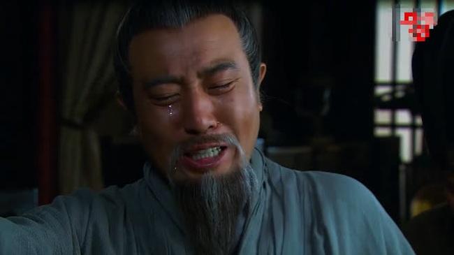 Hình ảnh nhân vật Lưu Bị trên phim.