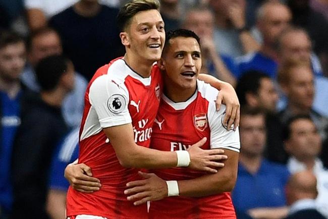 """Cặp """"bài trùng"""" một thời của Arsenal."""