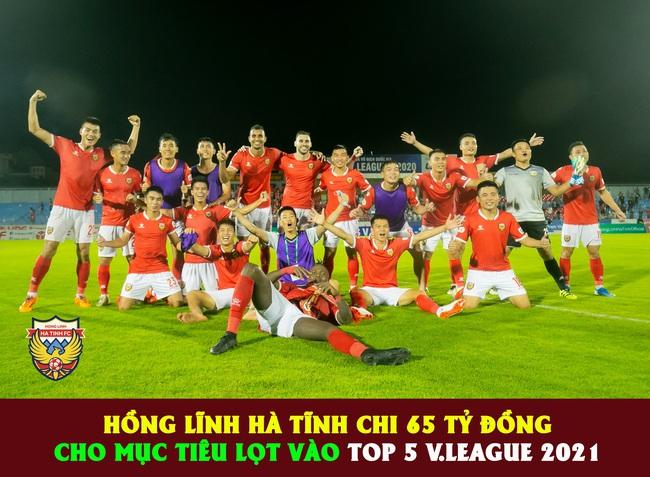 Hồng Lĩnh Hà Tĩnh: Ngân sách 65 tỷ và mục tiêu Top 5 V.League  - Ảnh 1.