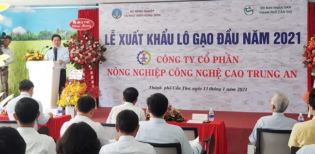 Công bố xuất khẩu lô gạo đầu năm 2021 của Việt Nam sang Malaysia và Singapore - Ảnh 2.