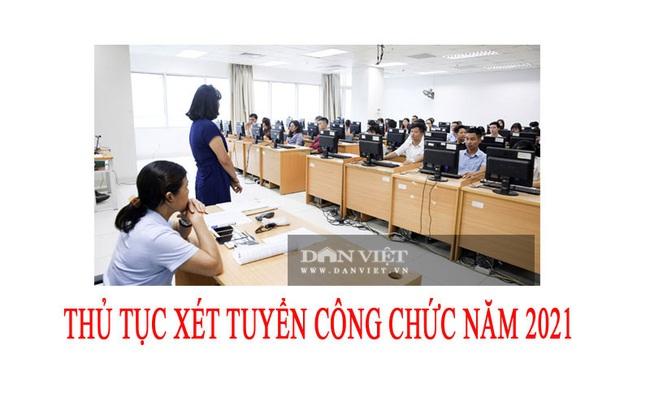 Thủ tục xét tuyển công chức năm 2021 - Ảnh 2.