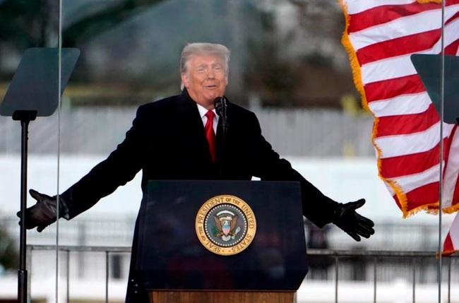 Hạ viện Mỹ quyết tâm phế truất Trump - Ảnh 1.