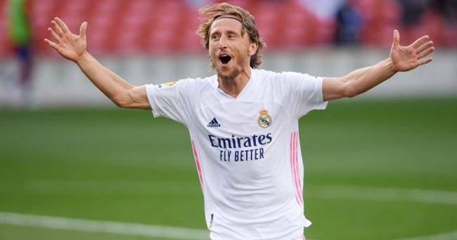 Modric có sự nghiệp rất thành công ở Real Madrid.