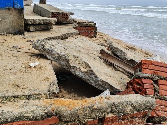 Đà Nẵng nói gì về tình trạng bờ biển bị xói lở? - Ảnh 3.