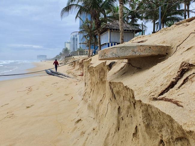 Đà Nẵng nói gì về tình trạng bờ biển bị xói lở? - Ảnh 4.
