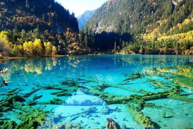 """Thung lũng Hoàng Long, kỳ quan thiên nhiên đẹp tựa """"cổ tích"""" - Ảnh 3."""